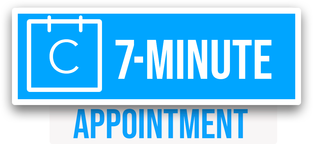 7 minutes can save 7 years